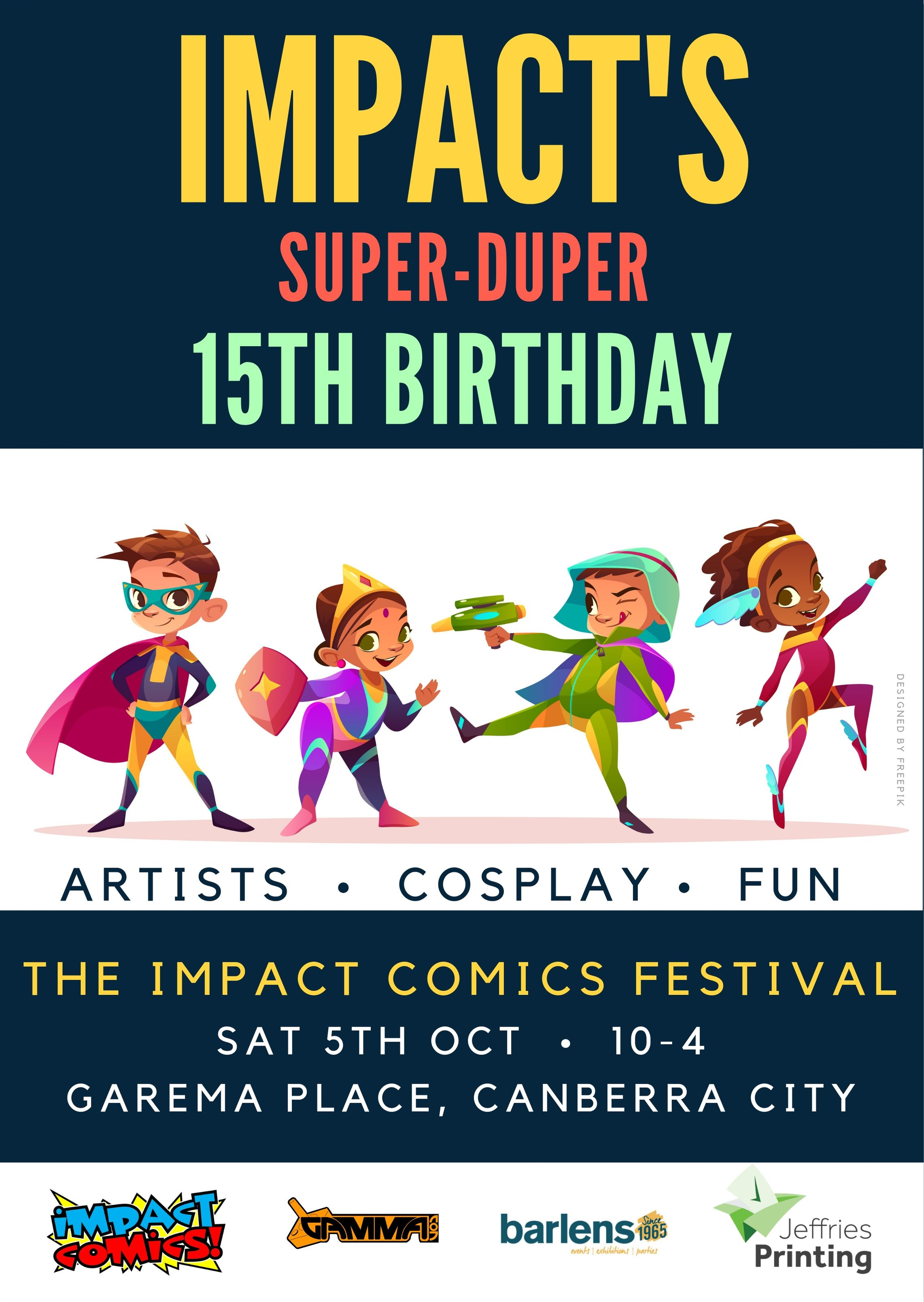 Impact Comics Super-Duper 15th Birthday