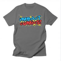 Impact Comics Logo T-Shirt