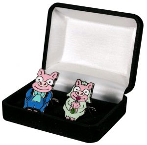 Simpsons Pig Cufflinks