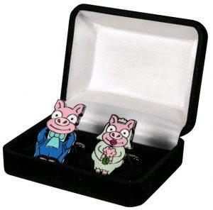 Simpsons Pig Cufflinks