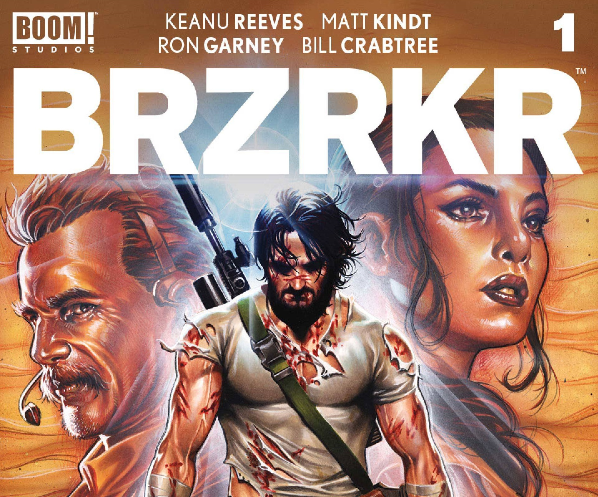 BRZRKR by Keanu Reeves
