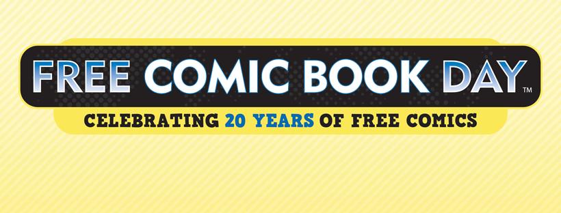 Free Comic Book Day Celebrating 20 years