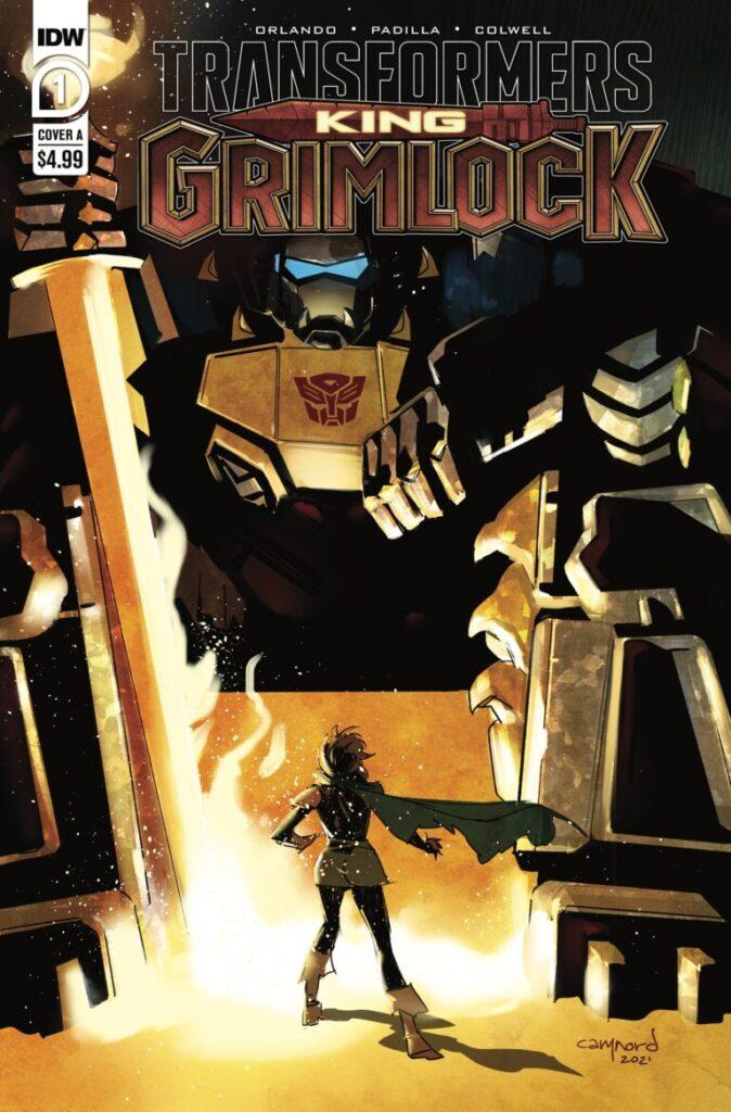 TRANSFORMERS KING GRIMLOCK #1 (OF 5)