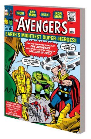 Mighty Marvel Masterworks Avnegers Vol 1